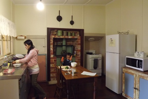Kitchen in Settlers Rest
