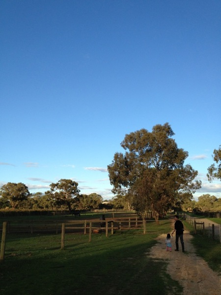 Walking to Swan River